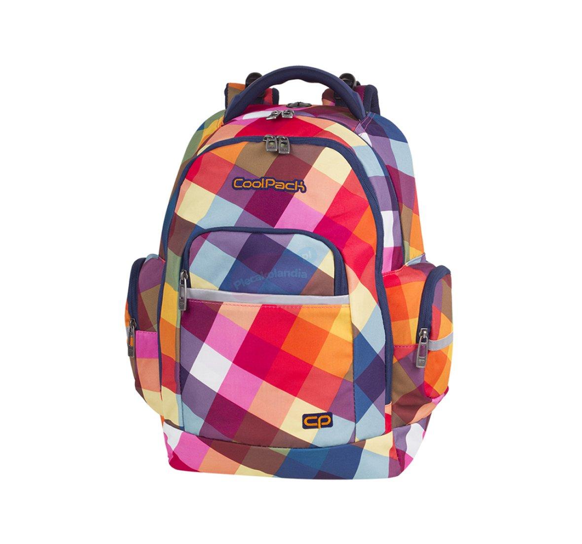 d6228db5aad20 Wybraliśmy dla Ciebie wyjątkowy produkt - Plecak szkolny Coolpack Brick 28L  Candy Check. Najchętniej nosi go młodzież, jest wygodny i modny.