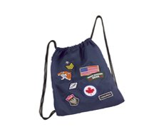 Worek na obuwie Coolpack Sprint Badges Navy