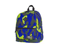 Plecak szkolny Coolpack Cross 25L Camouflage Lime