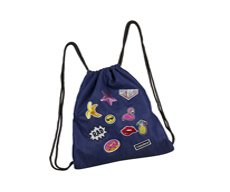 Worek na obuwie Coolpack Sprint Badges Girls Denim