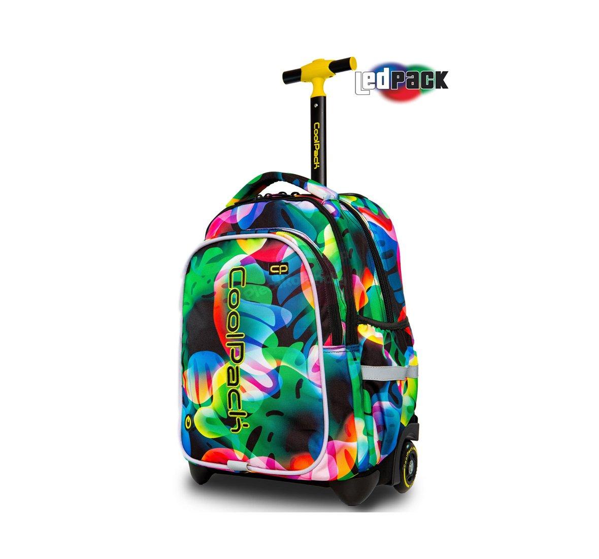 61a65220f61c7 PLECAK Szkolny na kółkach Coolpack Junior LED RAINBOW LEAVES PTR A28210
